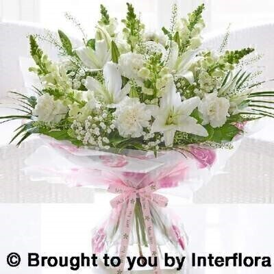 Mothers Day Timeless Beauty Hand Tied Extra Large: Booker Flowers and Gifts
